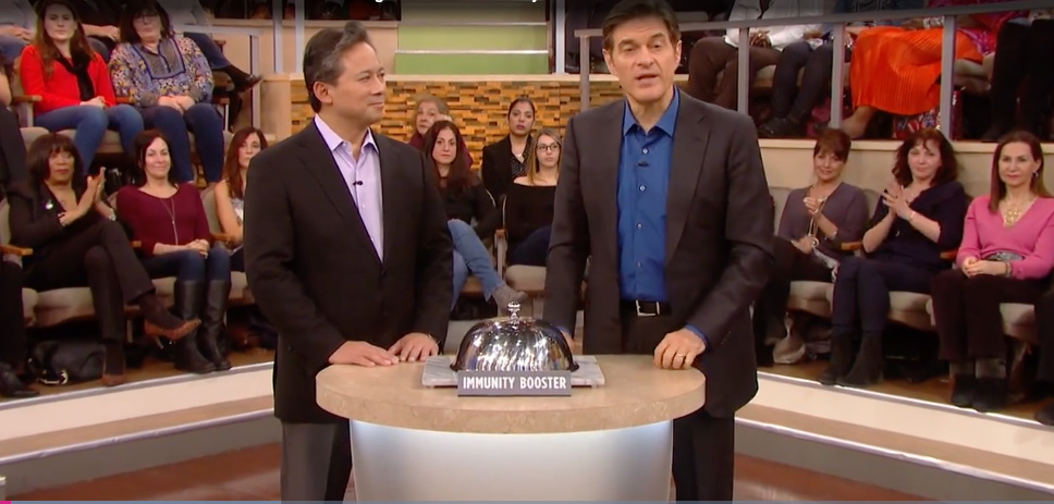 Dr. William Li Discusses Immunotherapy and Immune-Boosting Foods on The Dr. Oz Show