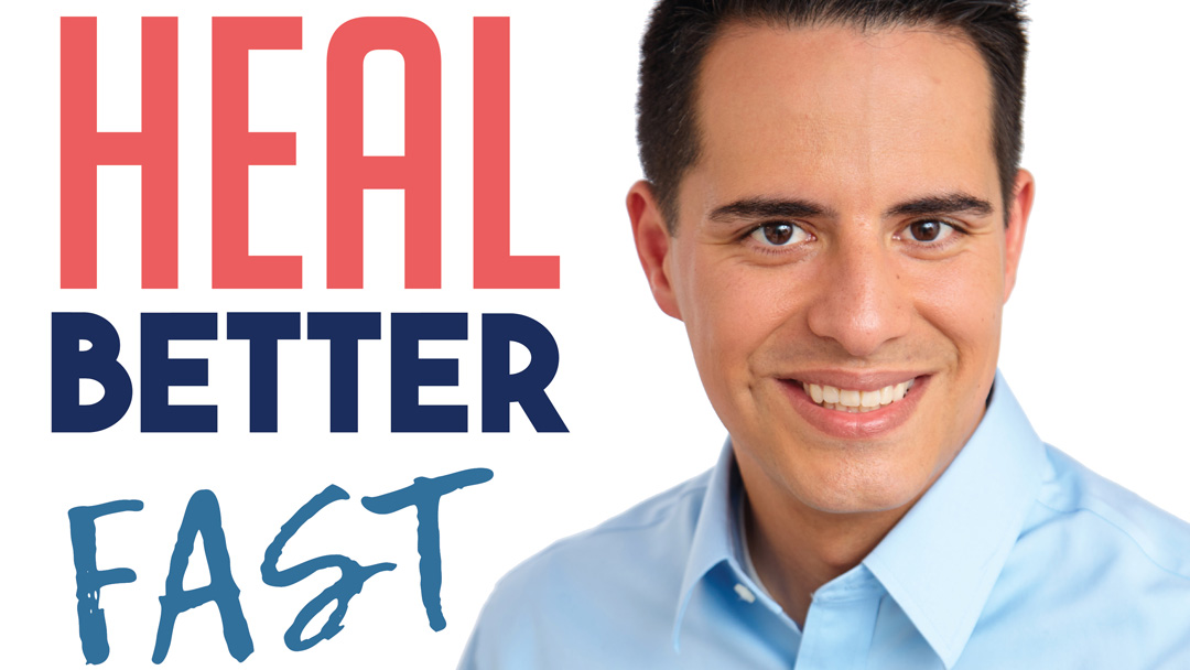 Dr. William Li on the Heal Better Fast Podcast