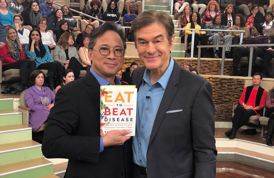 Dr. William Li on The Dr. Oz Show