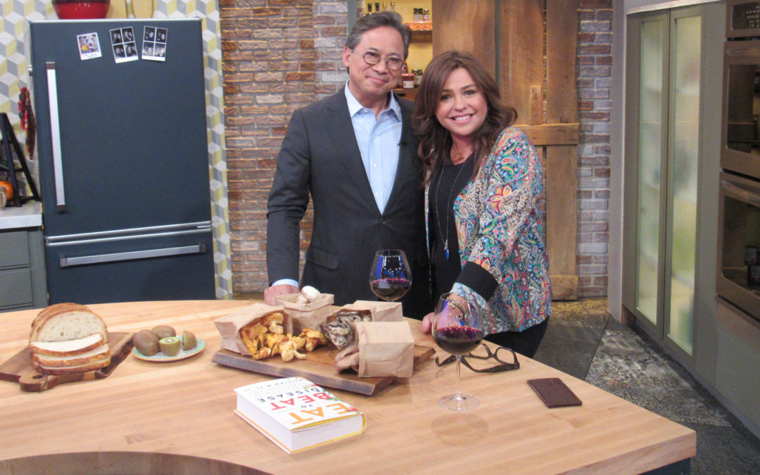 Dr. William Li on The Rachael Ray Show